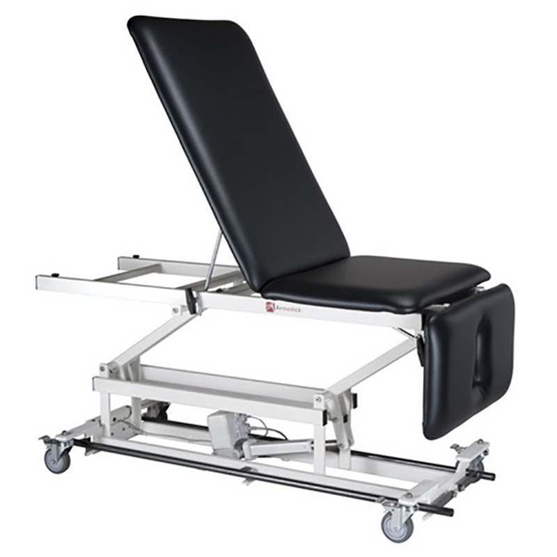 Armedic Treatment Table Drop End - Grey