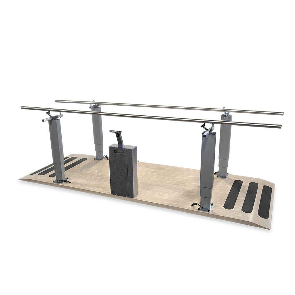 Electric Power Height Parallel Bars - 7'