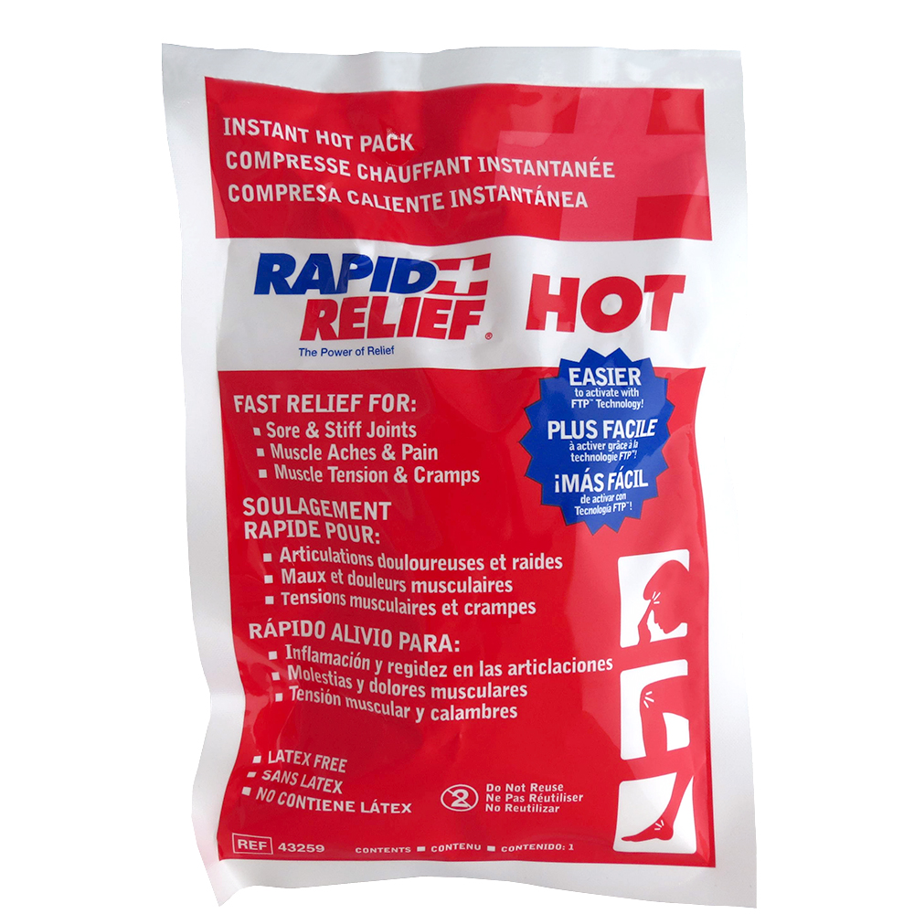 Instant Hot Pack 5 x 9 in. (24)