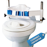 Low-Back Toilet Support - Small