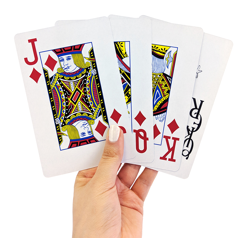 Playing Cards - Big 3.75 X 5.5