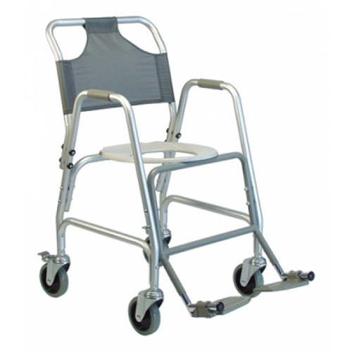 Shower Transport Chair With Footrest