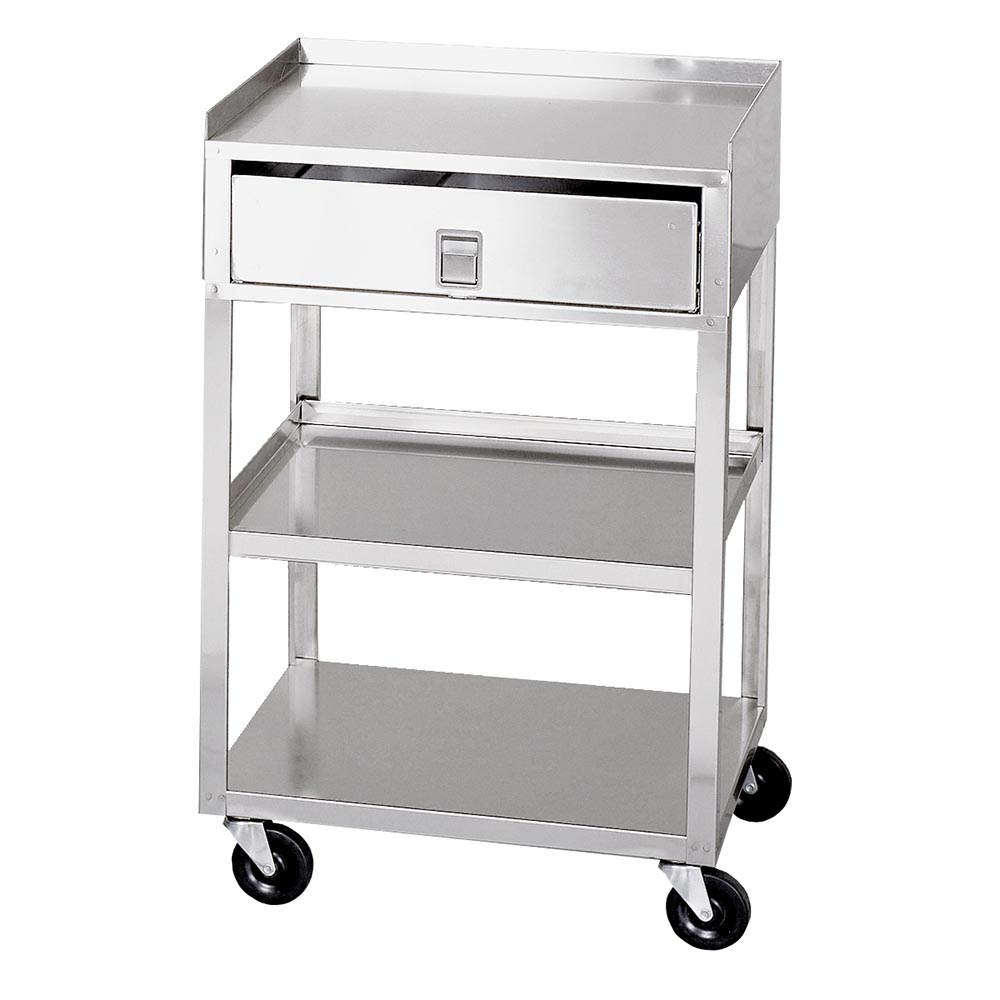 Cart Stainless Steel with Drawer