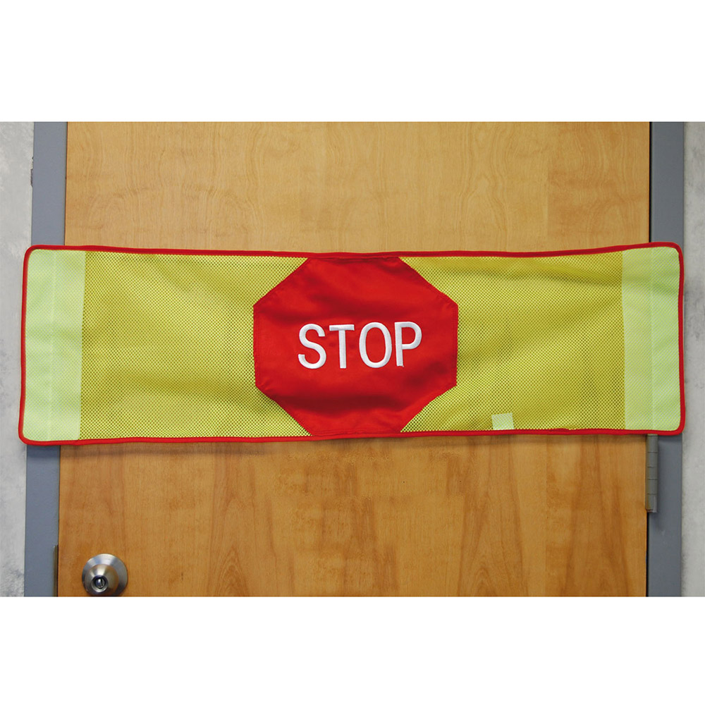 Stop Strip w/Magnetic Mounts with Stop Sign
