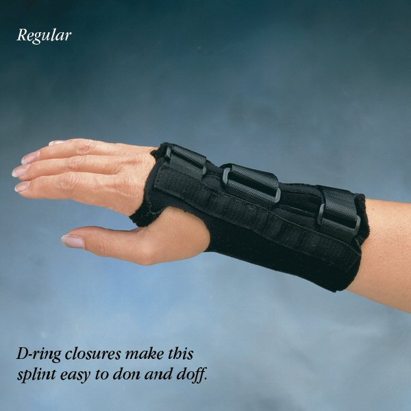Comfort Cool D-Ring Wrist Orthosis 7