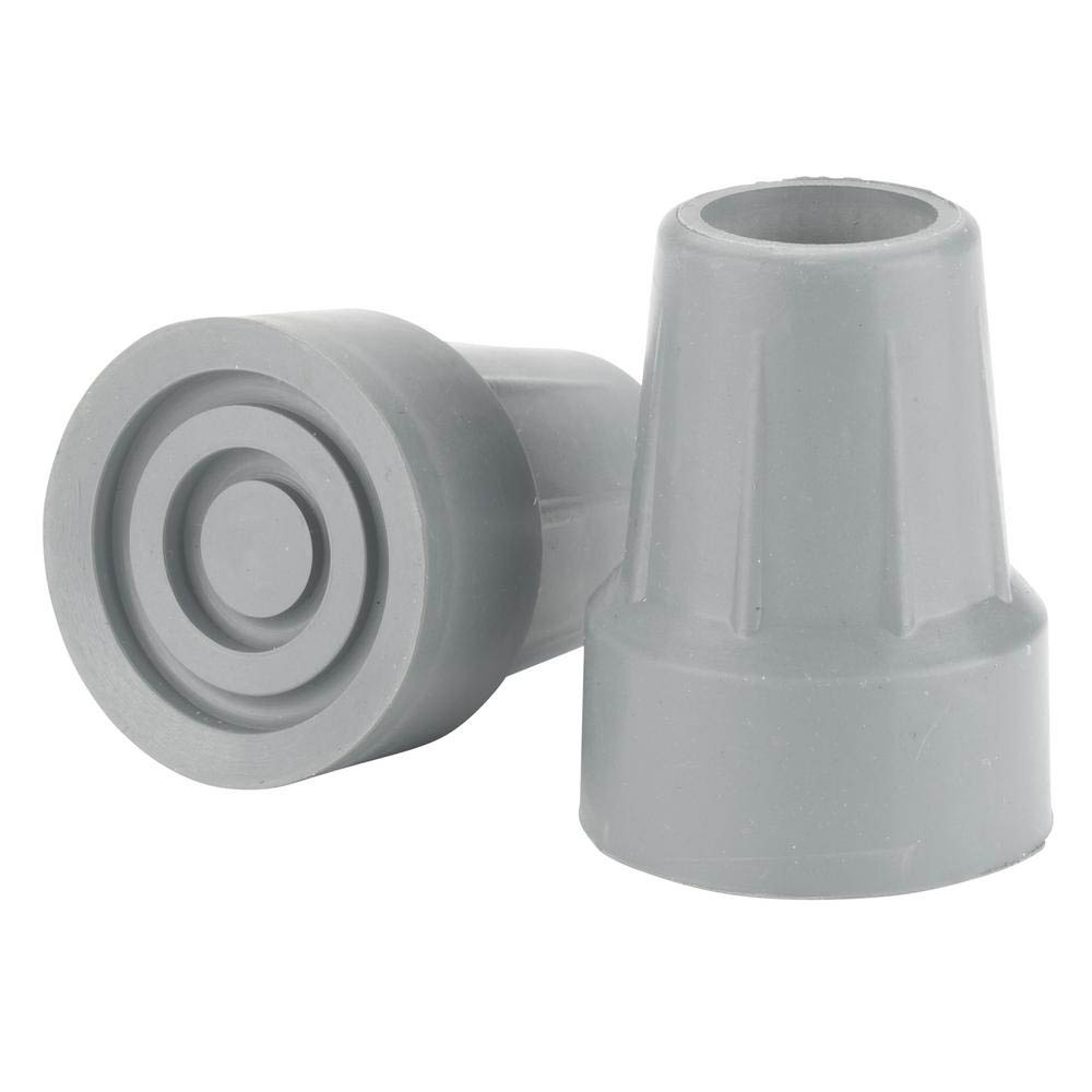 Crutch Tips Medium Grey 7/8